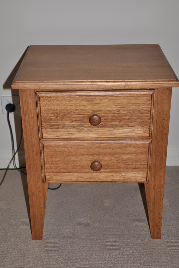 Custom Built Bedside Table