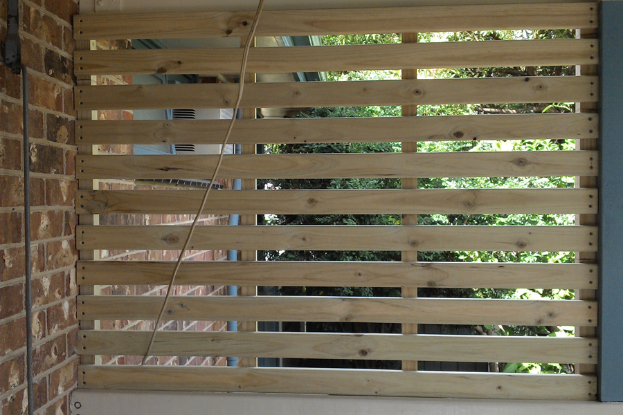 Verandah Slats Custom Built